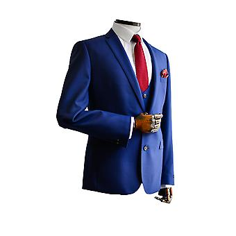 Luca French Blue Suit Jacket