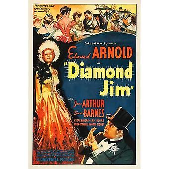 Plakat filmu Jim Diamond (11 x 17)