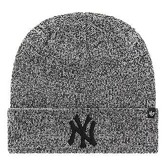 47 العلامة التجارية نيويورك يانكيز المدقق بيني -- أسود