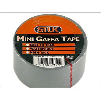 STUK Mini Gaffa Tape Silver 48mm x 10m GM5010S