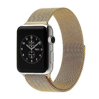 Strapsco milanese mesh strap for apple watch
