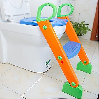 Kids Potty Training Seat With Step, Stool Ladder For Child Toddler Toilet Chair