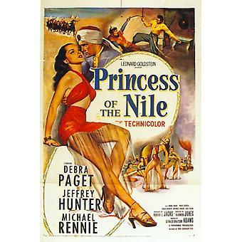 Prinzessin von Nil-Film-Plakat-Druck (27 x 40)