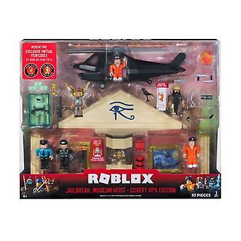 Roblox Jailbreak Museum Heist Covert Ops Edition