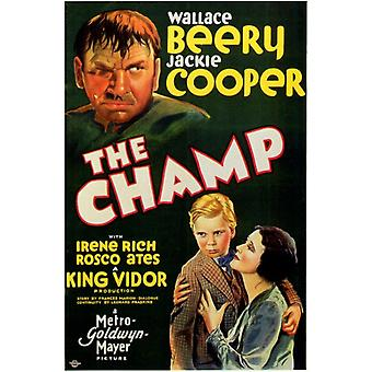 The Champ Movie Poster Print (27 x 40)