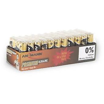 Ansmann LR03 AAA bateria Alkali-mangannese 1.5 V 44 pc(s)