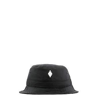 Marcelo Burlon Cmlb006e20fab0011001 Men's Black Polyester Hat