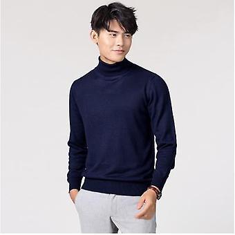 الخريف / الشتاء الملابس الكلاسيكية Knitwear روب سحب هوم Pullover الرجال البلوزات