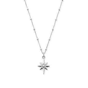 ChloBo SNBB2066 Bobble Chain Lucky Star Necklace