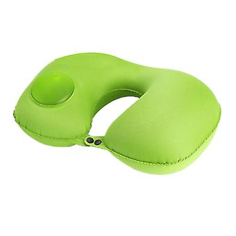Travel U-Shaped Travel Pillow Inflatable Folding Pillow Neck Pillow for Travel