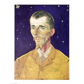 ユージン ・ ボッホ ポスター印刷フィンセント ・ ヴァン ・ ゴッホの肖像画