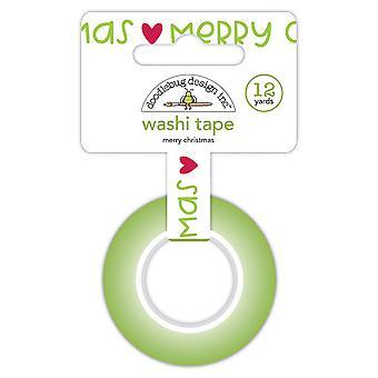 Doodlebug Design Frohe Weihnachten Washi Tape