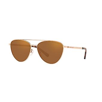 Michael Kors Barcelona MK1056 1108/2T Rose Gold/Rose Gold Polarised Sunglasses