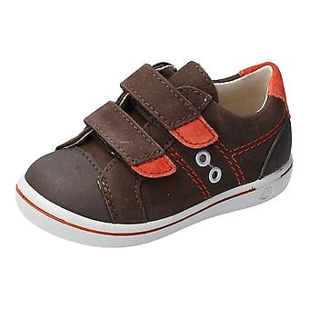 RICOSTA Double Velcro Fashion Trainer Brown