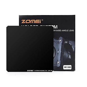 Zomei 10 stopt nd filter 100mm nd1000 lensfilter ultra slim hd 18 laag super multi-coated schott g