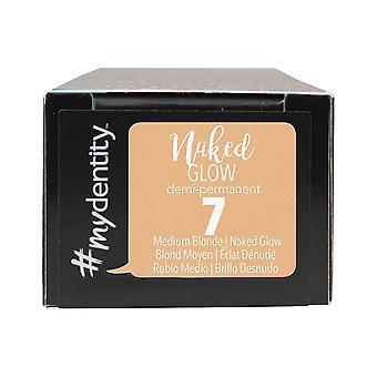 #mydentity Naked Glow Demi - Permanent Hair Colour - 7 Medium Blonde