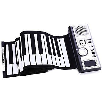 Electronic Keyboard Toy Flexible Soft Keyboard Piano Portable 61 Keys Piano