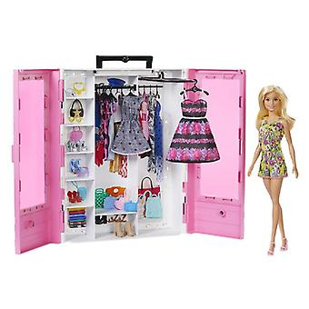 Dolls Accessories Barbie Super Closet with Doll Mattel