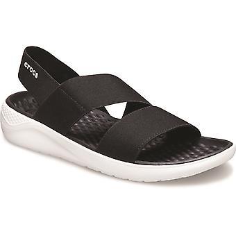 Crocs women's lite ride stretch slip on sandal various colours 31455