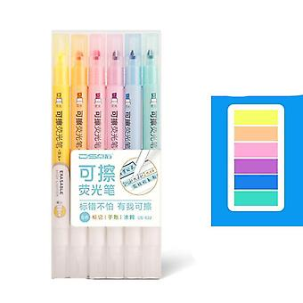 Double Sided, Erasable Highlighters For Art Drawing