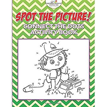 Spot the Picture! Connect the Dots Activity Book by Kreative Kids - 9