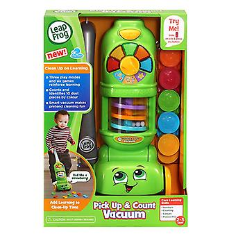 Leap frog pick up & count vaccuum