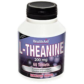 Terveysapu L-Theanine 60 Tablettia