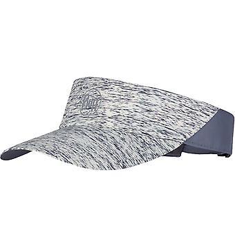 Buff vuxna reflekterande utomhus running walking visir cap hat - grå