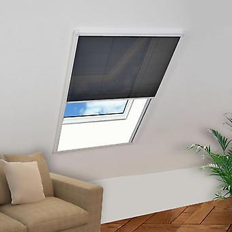 vidaXL insecticène pour fenêtre aluminium 120x160 cm