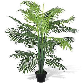 vidaXL Keinotekoinen feeniks-palmu ruukulla 130 cm