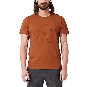 s.Oliver BLACK LABEL 12.910.32.9352 T-Shirt, Brown (Copper Brown 2814), Large Man