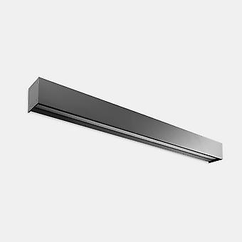 LEDS C4 Afrodita Infinite Outdoor LED Linear Up Down Light Urban Grey IP65 20.3W 3000K Regulable