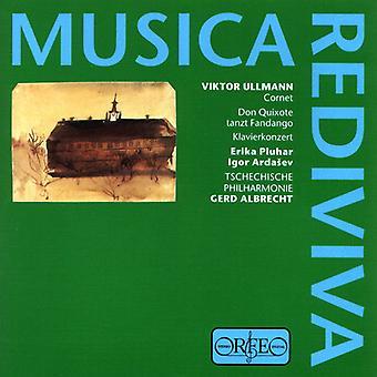 V3. Ullmann - Der Cornet Klavierkonzert Ouverture Don Quichote T [CD] USA import