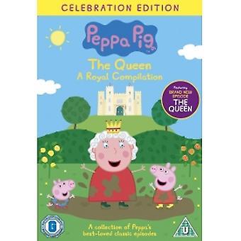 Peppa Pig Vol. 17 The Queen Royal Compilatie DVD