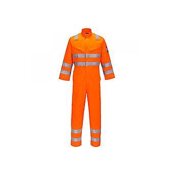 Portwest Modaflame RIS Orange Overall MV91