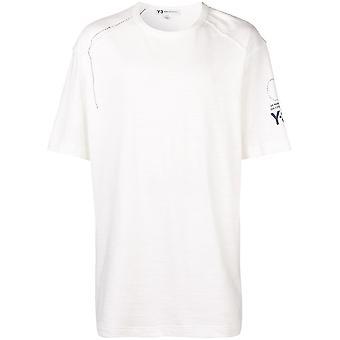Y-3 Sashiko Oversize Logo T-Shirt