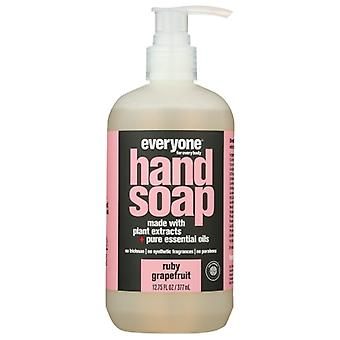 EO Products Everyone Hand Soap Ruby Grapefruit, 12.75 Oz