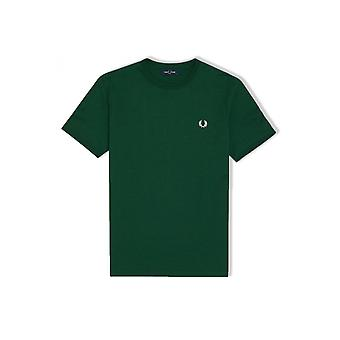 Fred Perry Ringer T-Shirt (Ivy)