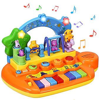 Baby Toy Piano With Integrated Music