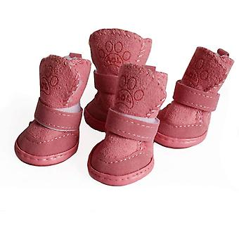 Dog Shoes Puppy Boots Snow Paw Protector, Baskets antidérapante pour animaux de compagnie