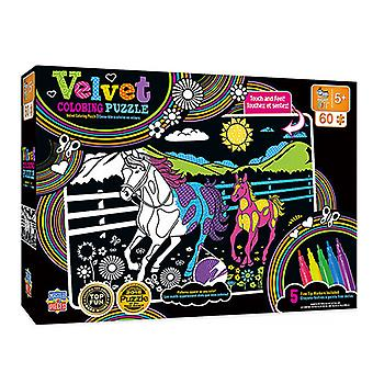 MP Kids Velvet Coloring Puzzle (60 pcs)