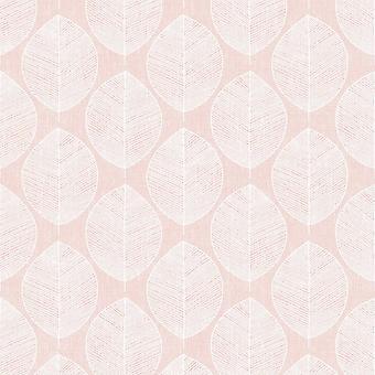 Arthouse Scandi Leaf Różowa Tapeta 908200