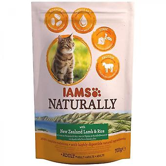 Iams Naturally Croquette Lamb New Zealand & Rice - All Breeds - 700 G - For Adult Cat