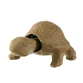 17.5cm Paper Mache Nodding Tortoise Head to Decorate   Bobble Wobble Heads