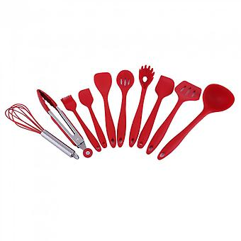 10 Piece/set Home Kitchen Silicone Cooking Utensil Set Kitchen Cooking Tools