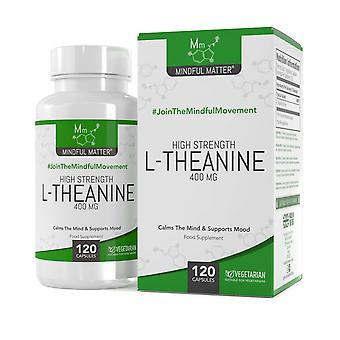 L-théanine (400mg) 120 gélules