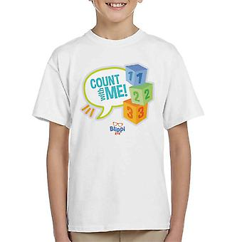 Blippi Count With Me Kid's T-Shirt