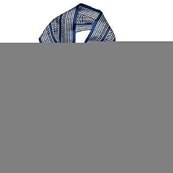 Luxury Striped Print Silk Scarf Women Double Small Scarf Tying Hair Band Female Spring Narrow Long