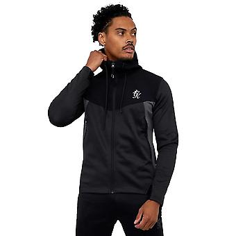 Gym King Sport Velocity Hooded Track Top - Black