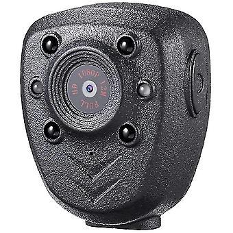 Mini draagbare beveiliging 1080p 32GB geheugen nachtzicht camera, geschikt voor outdoor home (zwart)